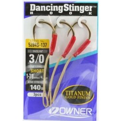 Owner Dancing Stinger Assist Hook - Short