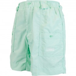 AFTCO Originl Mens Fishing Shorts Long - Mint