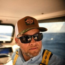 AFTCO Sickle Tuna Trucker Hat - Cumin