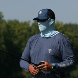 AFTCO Fishing Face Mask - Sky Blue