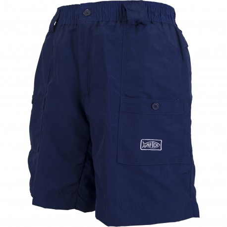 AFTCO ORIGINAL FISHING SHORTS LONG - Navy