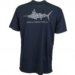 AFTCO JIGFISH SS SHIRT - MIDNIGHT
