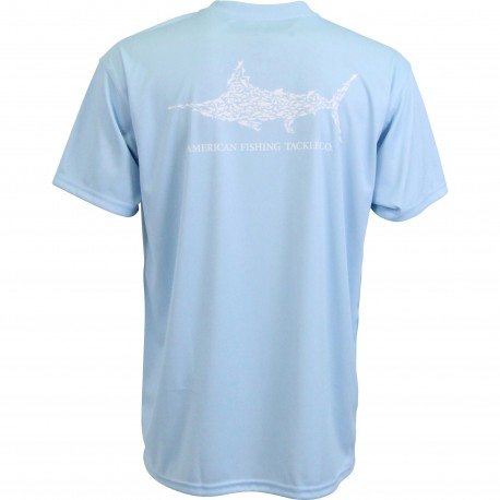AFTCO JIGFISH SS SHIRT - SKY BLUE