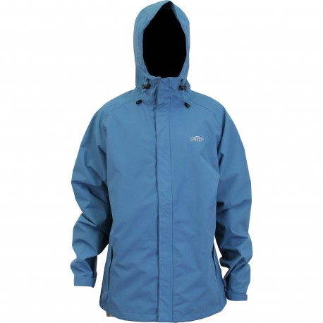 AFTCO SOLITUDE 2.5L WATERPROOF JACKET - BLUE STEEL