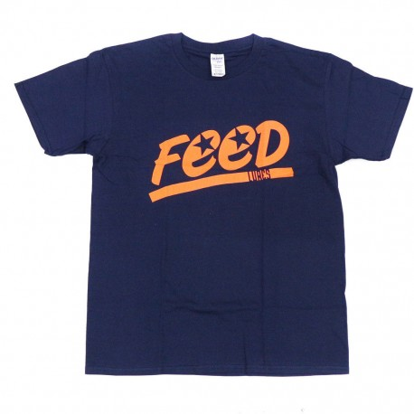 FEED T-SHIRT NAVY