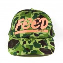 FEED JUNGLE READY CAP - Green Camo