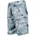 AFTCO Tactical Fishing Shorts - Grey Camo