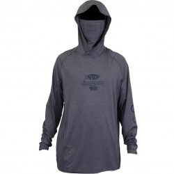 AFTCO BARRACUDA GEOCOOL PERFORMANCE - GRAY HEATHER