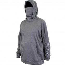 AFTCO REAPER TECHNICAL FLEECE HOODIE - CHARCOAL HEATHER