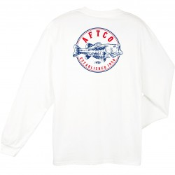 AFTCO PENNY LS T-SHIRTS - WHITE