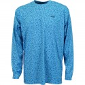 AFTCO Matrix LS Performance T Shirt - VIVID BLUE