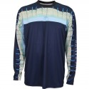Guy Harvey Del Mar LS Performance Shirt - Navy