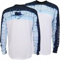 Guy Harvey Del Mar LS Performance Shirt - Sky Blue