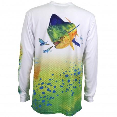 Guy Harvey Dorado LS Pro UVX Performance Shirt