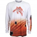 Guy Harvey Redfish LS Pro UVX Performance Shirt