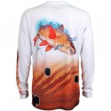 Guy Harvey Redfish LS Pro UVX Performance Shirt