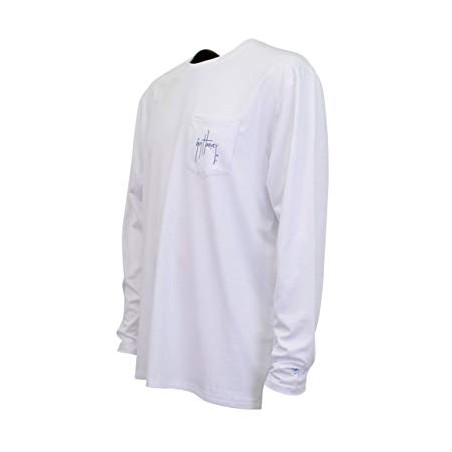 Guy Harvey Patriot LS - White