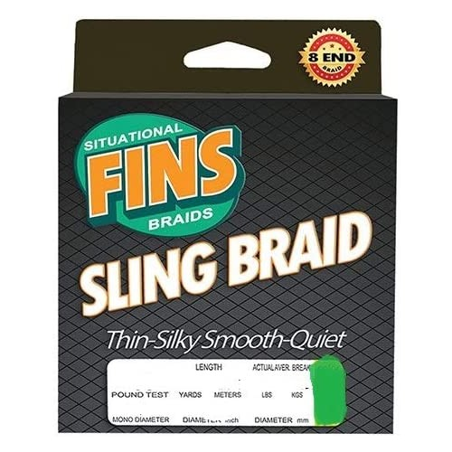 FINS Sling Braid Green 150...