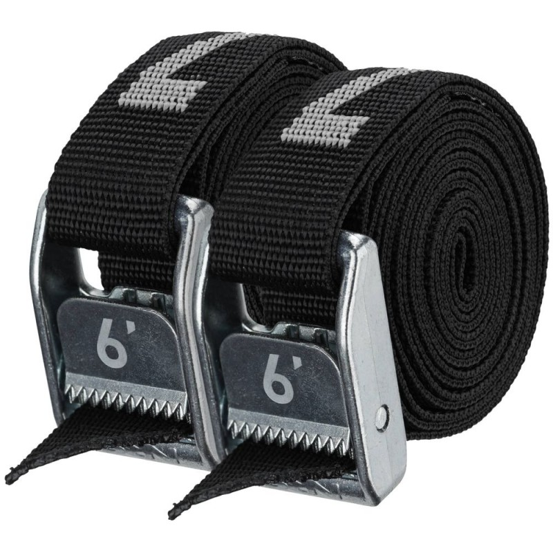 """Iconic Blue NRS 1/"""" HD Tie-Down Straps 9/' Pair"""