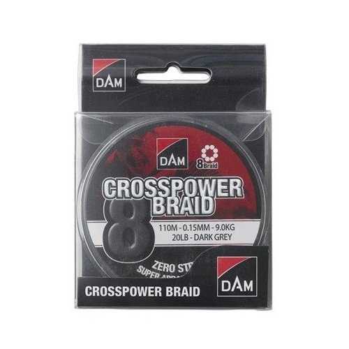 D.A.M Crosspower 8- Braid -...