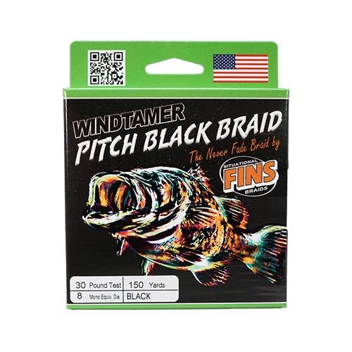 Fins Windtamer Pitch Black...